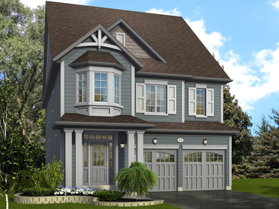 The Glenwood  -  Style C  /  2570 sq.ft.