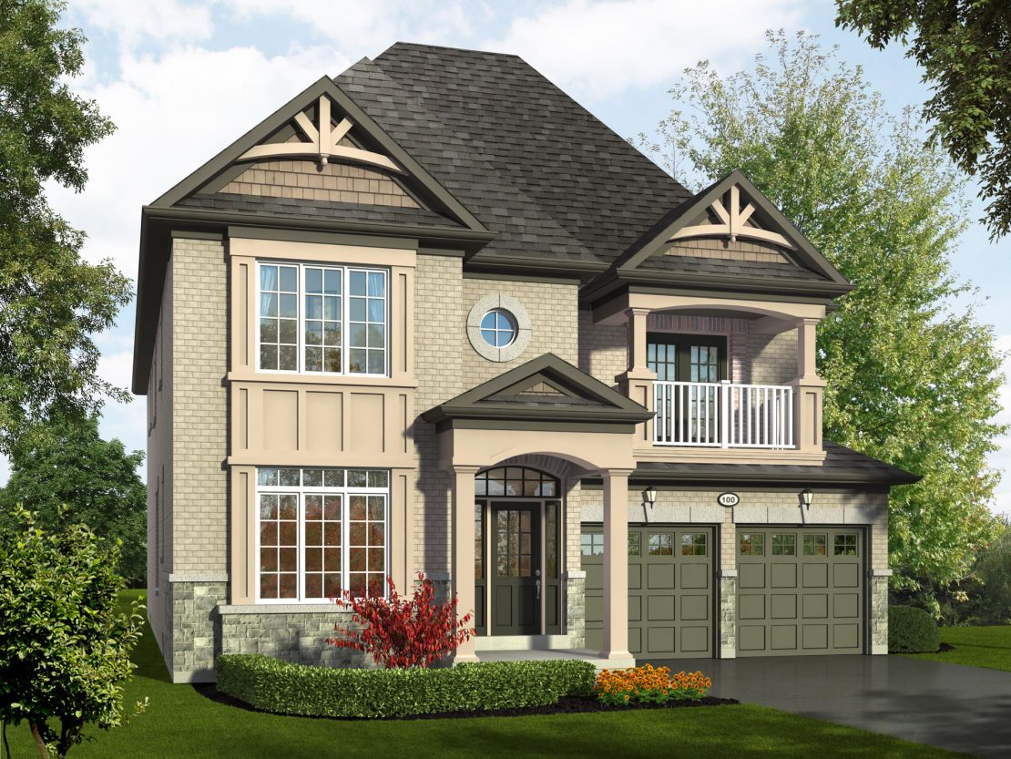 The Cedarbrae  -  Style A  /  3125 sq.ft.