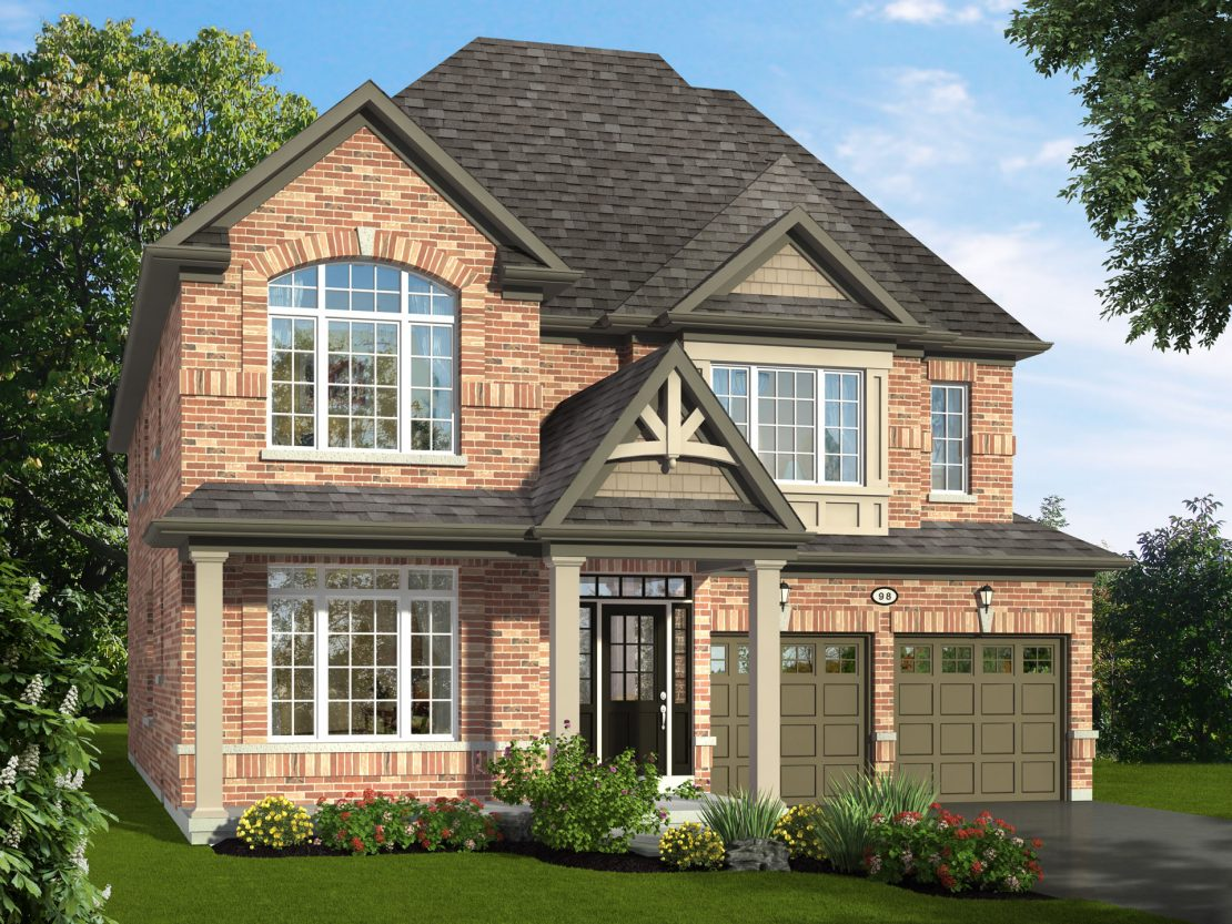 The Cedarbrae  -  Style B  /  3125 sq.ft.