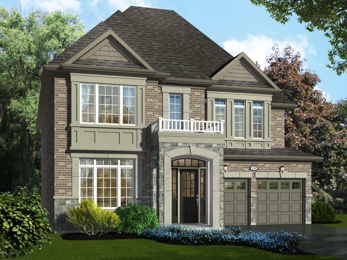 The Belhaven - Style A / 3395 sq.ft.
