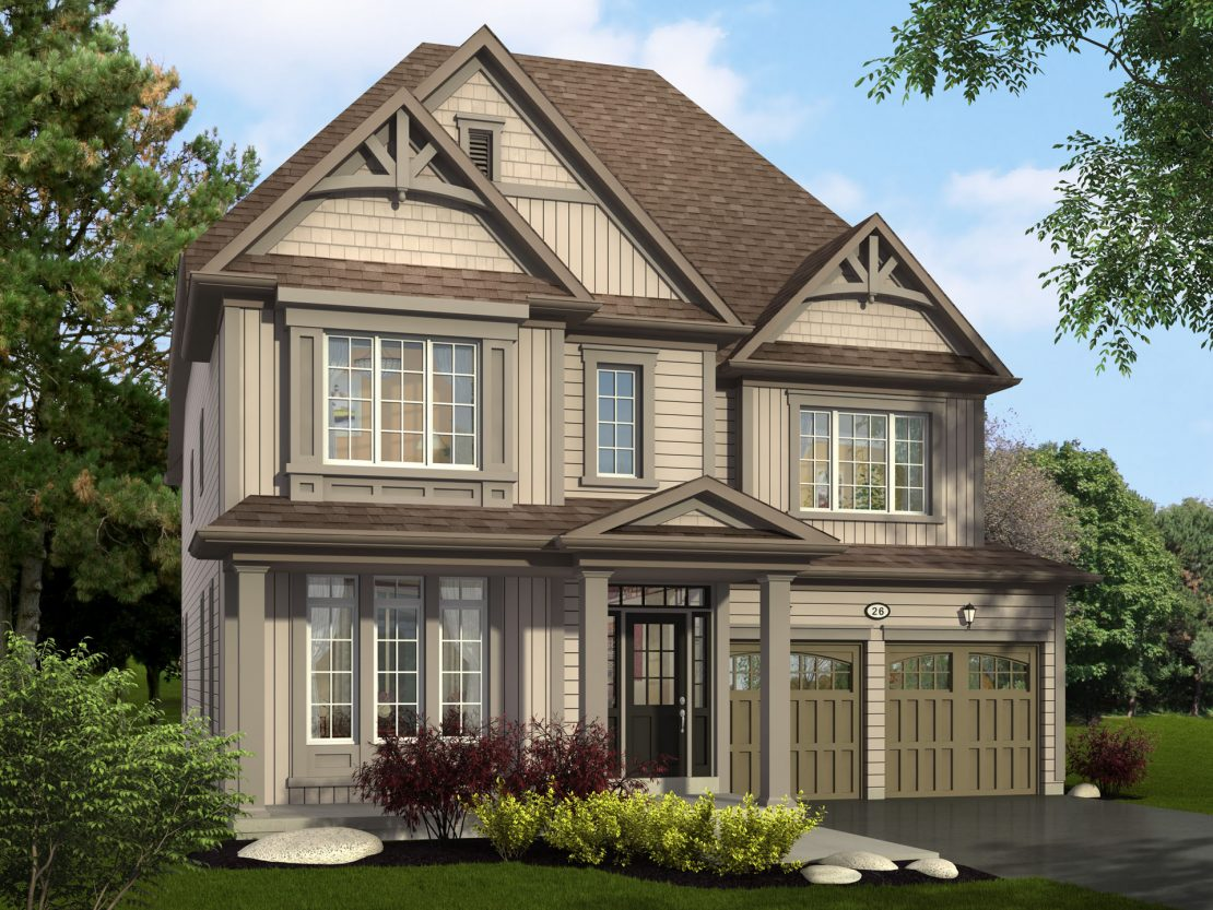 The Belhaven - Style C / 3375 sq.ft.