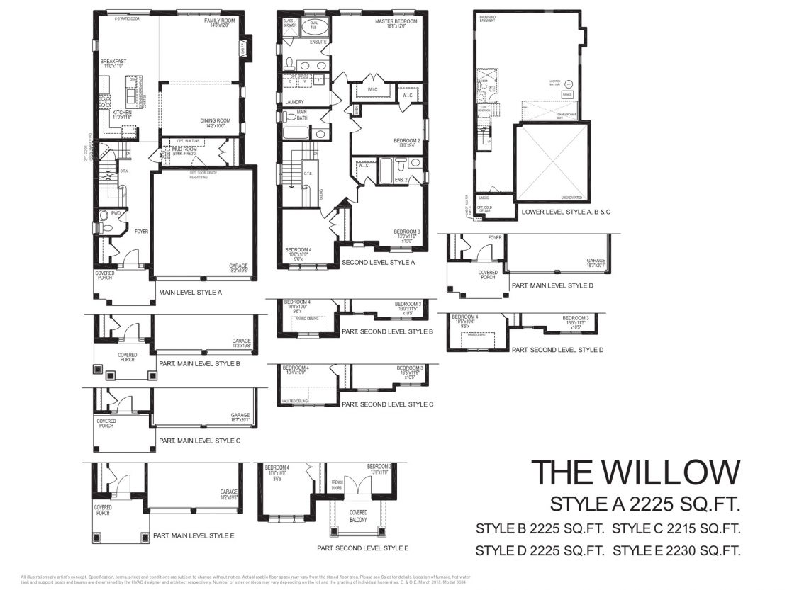 The Willow  -  Floor Plan