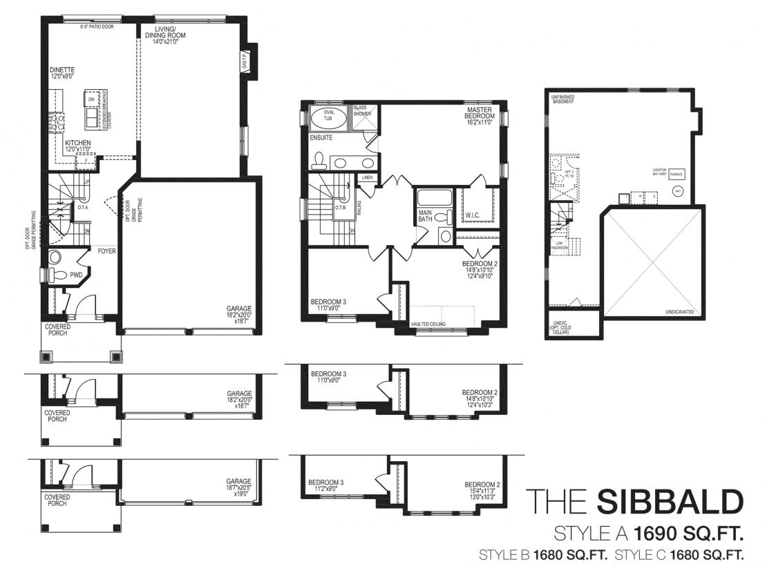 The Sibbald - Floor Plan