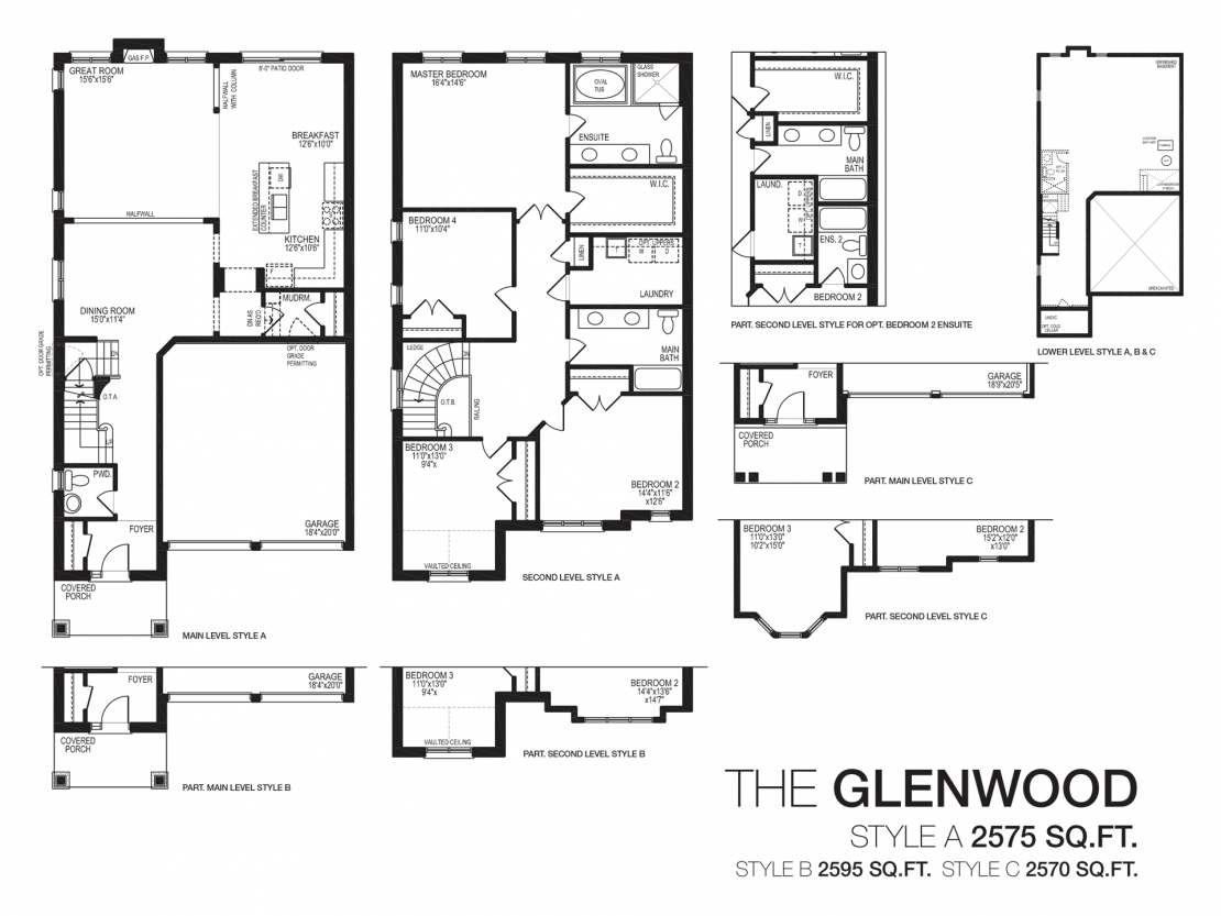 The Glenwood  -  Floor Plan