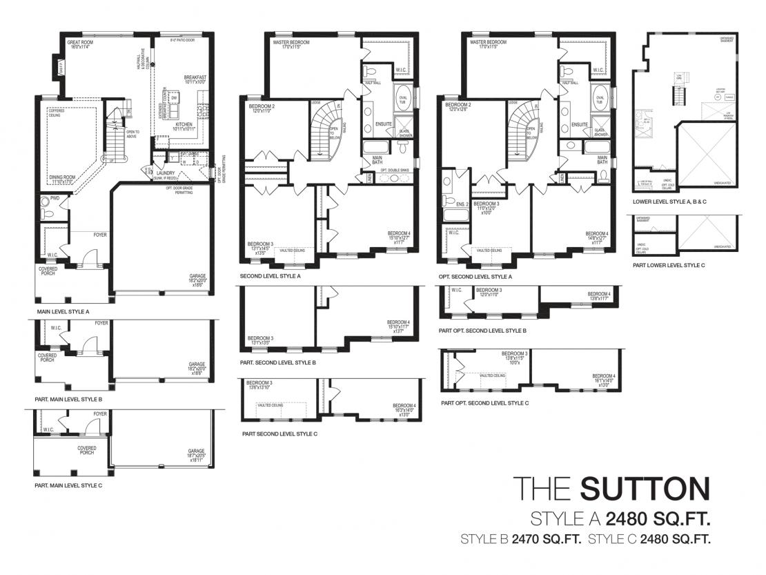 The Sutton - Floor Plan