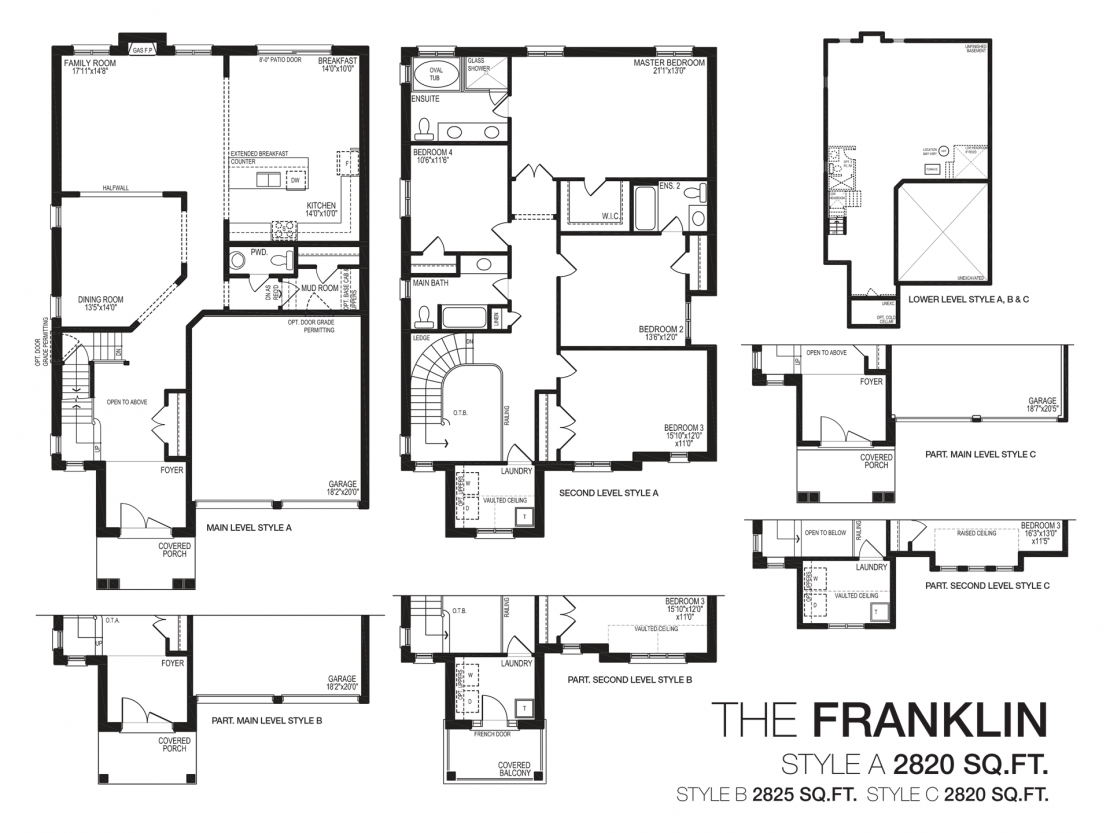 The Franklin  -  Floor Plan
