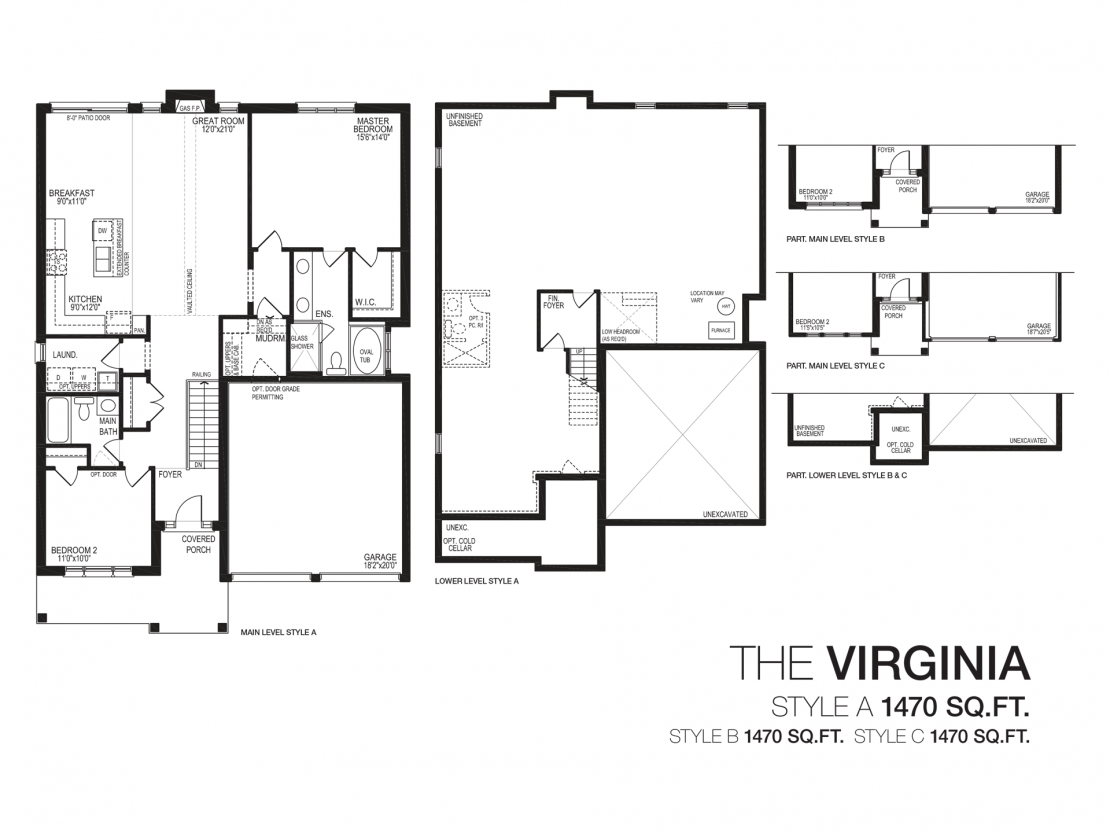 The Virginia  -  Floor Plan