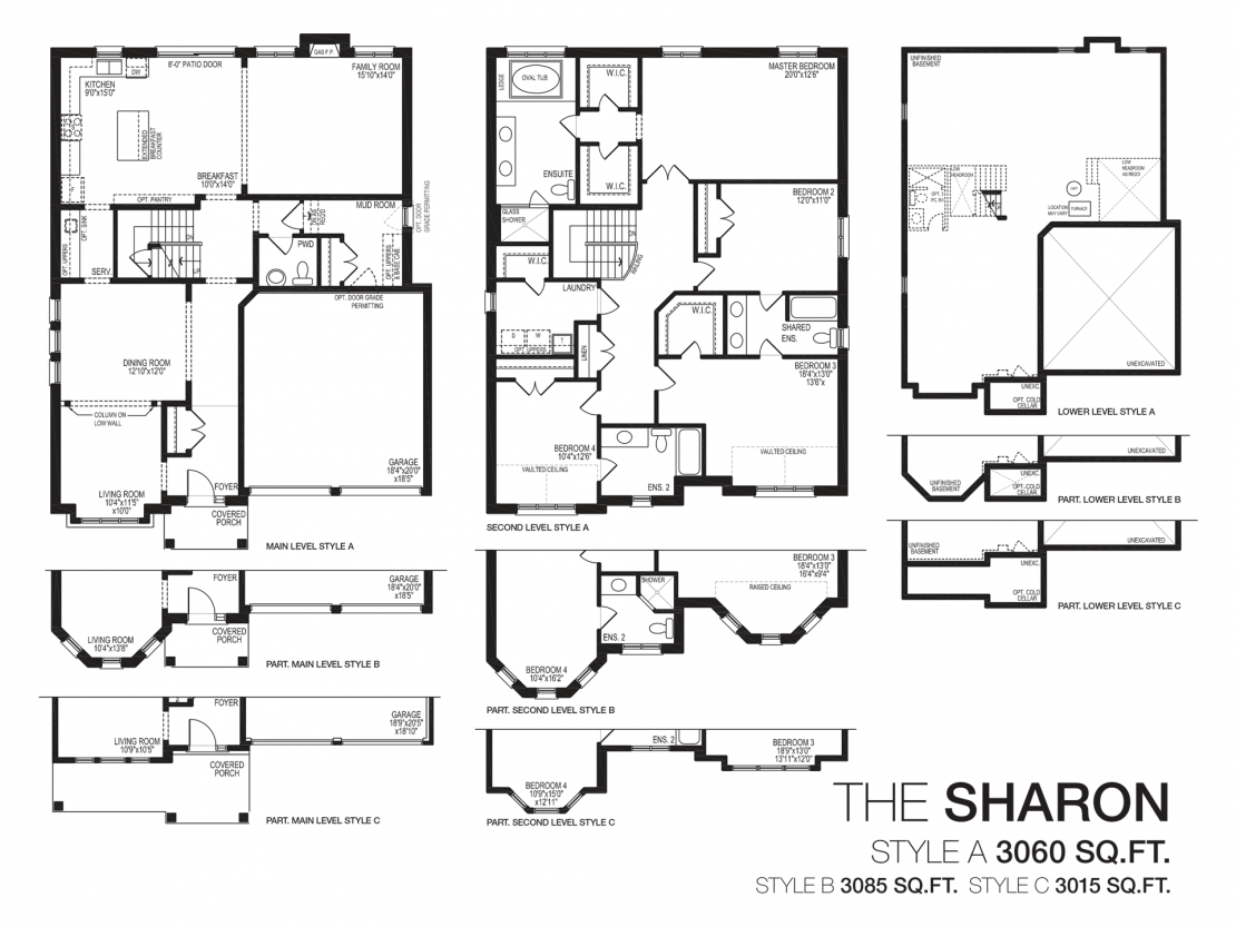 The Sharon  -  Floor Plan