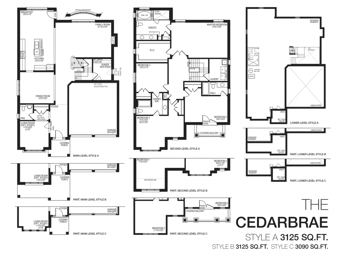 The Cedarbrae  -  Floor Plan