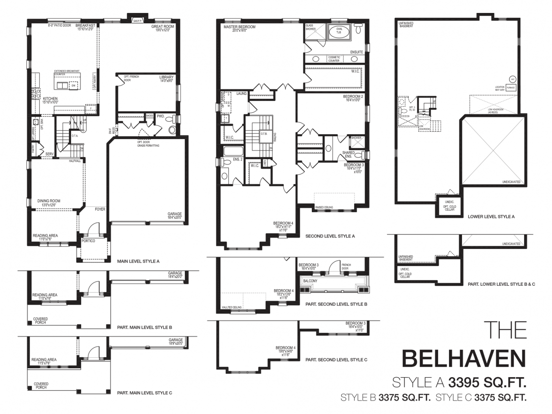 The Belhaven  -  Floor Plan